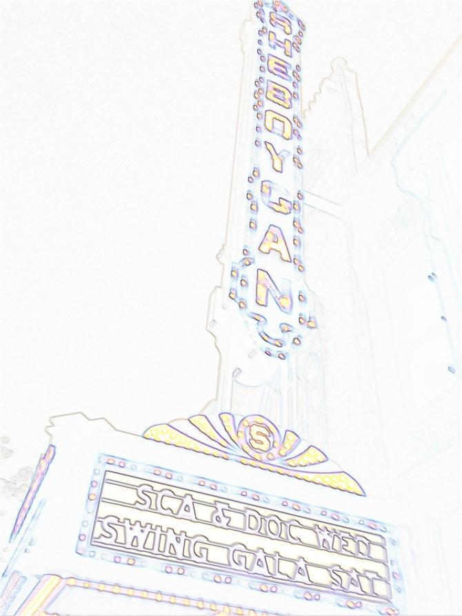 Sheboygan Theatre Marquee