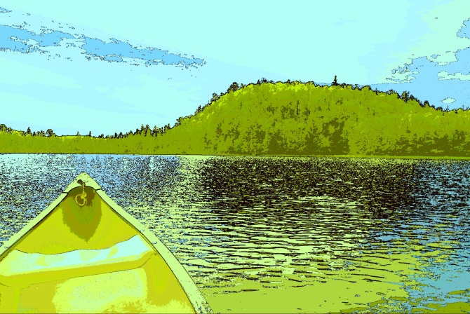 Summer Canoe